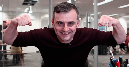 Gary Vaynerchuk at his Office