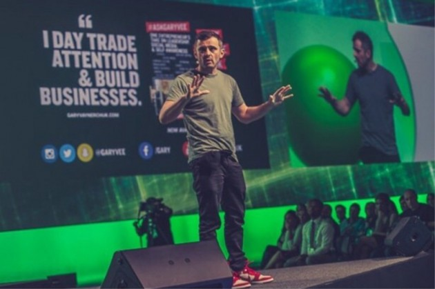 Gary Vaynerchuk Delivering Speech