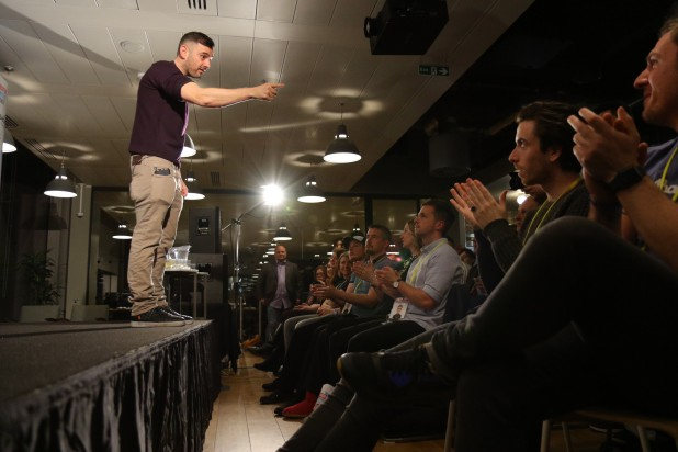 Gary Vaynerchuk with Audience