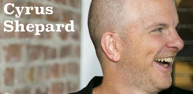 Cyrus Shepard, SEO Consultant
