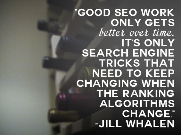 Jill Whalen SEO Quote