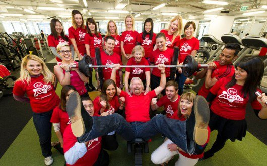 Richard Branson at Virgin Active