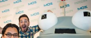 Mr. Moz and Rand Fishkin