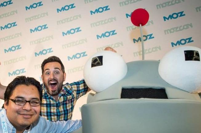 Mr. Moz and Rand Fishkin